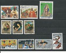 HAUTE-VOLTA  Scott 541-543, 550-552, 533-536 Yvert 522-524, 531-533, 513-516 (10) O Cote 4,30$ 1980 - Haute-Volta (1958-1984)