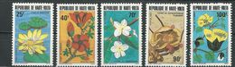 HAUTE-VOLTA  Scott 601-605 Yvert 582-586 (5) ** Cote 4,40$ 1982 - Haute-Volta (1958-1984)