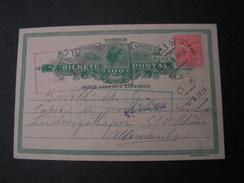 Brasil Karte 1928 - Ganzsachen