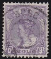 Nederland   .     NVPH   .    66    .    O          .          Gebruikt  .     /       .    Cancelled - Periode 1891-1948 (Wilhelmina)