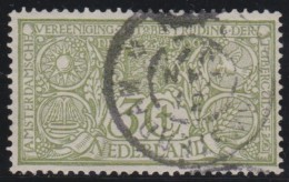 Nederland   .     NVPH   .    85         .    O          .          Gebruikt  .     /       .    Cancelled - Periode 1891-1948 (Wilhelmina)