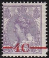Nederland   .     NVPH   .     106       .      *        .        Ongebruikt Met Gom .     /       .    Mint-hinged - Periode 1891-1948 (Wilhelmina)