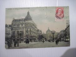 CPA ANVERS Avenue De Keyser Vers La Gare 1909 T.B.E. - Antwerpen