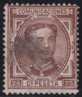 Spain    .            Yvert     166           .                      O            .               Cancelled - 1875-1882 Kingdom: Alphonse XII