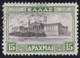 Greece   .            Yvert    407          .           O            .               Cancelled - Griekenland