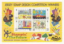 Jersey 2000, Stampin' The Future, M/Sheet - Unmounted Mint NHM - Jersey