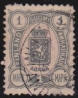 Finland    .     Yvert     33        .          O        .        Gebruikt    .   /   .     Cancelled - 1856-1917 Administration Russe