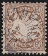 Bayern   .     Michel   .      46           .          O        .        Gebraucht - Bavière