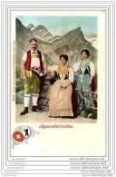 CPA  96 112 SUISSE  ( Costume - Trachten ), No. 16409 APPENZELLERTRACHTEN APPENZELL  ARTIST. ATELIER H. GUGGENHEIM - AI Appenzell Inner-Rhodes