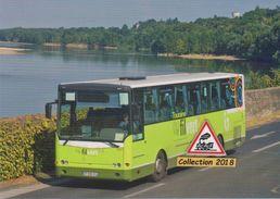 """Autocar Fast Concept Car (réseau """"Fil Vert""""), à Montlouis-sur-Loire (37) - - Autobus & Pullman"""