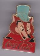 Pin's COCA COLA LE LOUP - Coca-Cola