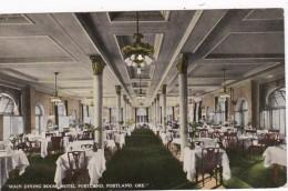 Oregon Portland Hotel Portland Main Dining Room Curteich