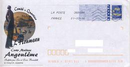 Corto Maltese ANGOULEME Cachet Du 01/03/2016 - Prêts-à-poster: Repiquages /Logo Bleu