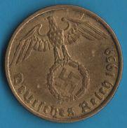 DEUTSCHES REICH 5 REICHSPFENNIG 1939 A KM# 91 (svastika) - [ 4] 1933-1945 : Third Reich