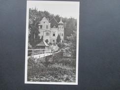 AK Echtfoto 1938 Pulkau Leitenschlössl. Frankatur Hindenburg Deutsches Reich. - Hollabrunn