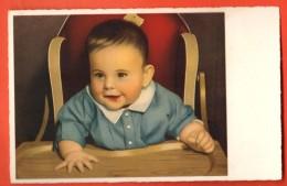 GAS-04  Bébé à Table. Non Circulé - Neonati