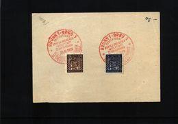 Czechoslovakia 1939 Brno Interesting Postmark - Tschechoslowakei/CSSR