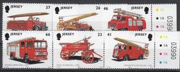 Jersey 2001 Fire Engine -  Unmounted Mint NHM1 - Jersey