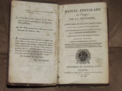 093 / LIVRE / Manuel Epistolaire à L'usage De La Jeunesse - 1860 - 382 Pages - Libros, Revistas, Cómics