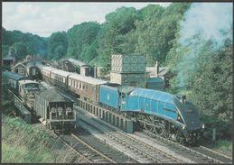 North Yorkshire Moors Railway A4 60007 Sir Nigel Gresley At Goathland Station - RMM Postcard - Trains