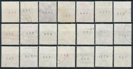 Bund. Aus Nr. 694-703 + 773 Rollenmarken ~ Michel 46,-- Euro - [7] République Fédérale