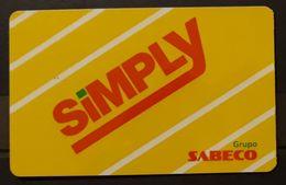 TARJETA SUPERMERCADO SIMPLY - GRUPO SABECO. - Otras Colecciones