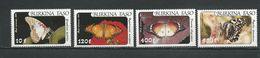 BURKINA FASO  Scott C305-C308 Yvert PA272-PA275 (4) ** Cote 13,20$ 1984 - Burkina Faso (1984-...)