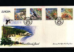 Guernsey 1999 Europa CEPT FDC - 1999