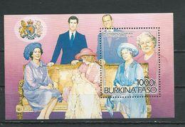 BURKINA FASO  Scott 707 Yvert BF27 (bloc) ** Cote 10$ 1985 - Burkina Faso (1984-...)