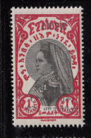 Ethiopia 1928 MH Scott #168 1m Black Overprint - Listed As Violet - Ethiopie