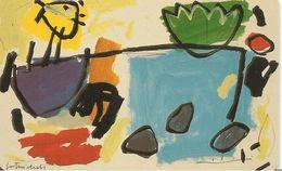 CARTE-PUCE-LUXEMBOURG-120U-SC7-SC 1994-ART CONTEMPORAIN-GAST MICHELS-Le PECHEUR-TBE - Luxembourg