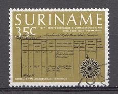 Surinam 1977 Mi.nr.: 791 Dampfschiffahrt  Oblitérés / Used / Gestempeld - Suriname