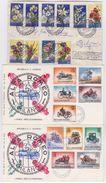 SAN MARINO 1957-1964 - 4 FDC - San Marino
