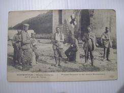 CPA NEUFMONTIERS Blessés Allemands Sur La Place De L'église  19.. - War 1914-18