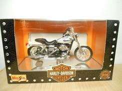 Maisto Harley-davidson 1:18  2002 Fdxl Dyna Low Rider - Motos