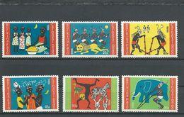 BURKINA FASO  Scott 755-760 Yvert 670-675  (6) ** Cote 4,20$ 1986 - Burkina Faso (1984-...)