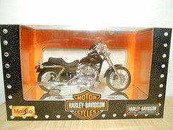 Maisto Harley-davidson 1:18  2000 Fxdl Dyna Low Rider - Motos