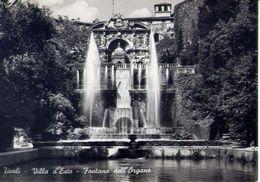 Tivoli - Villa D'este- Fontana Dell'organo - 27724 - Formato Grande Viaggiata - E 4 - Tivoli