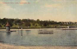 Maryland Baltimore Patterson Park Lake - Baltimore