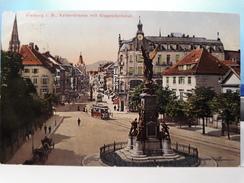 FREIBURG . KAISERSTRASSE MIT SIEGESDENKMAL - Freiburg I. Br.