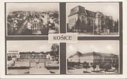 Vereinsmarke Auf Fotokarte KOSICE, Verlag In Bratislava, Alte Karte Um 1930 - Slowakei