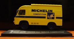 """Camionnette - Saviem SG- Michelin """"Service Compétition"""" 1/43 - Utilitaires"""