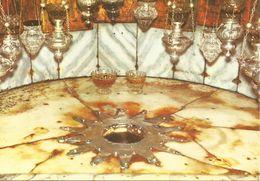 BETHEEM - L'ENDROIT DE LA NAISSANCE DU CHRIST.  (scan Verso - Palestine