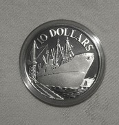 Proof/PP Silber/Silver Singapur/Singapore 10 Jahre Unabhängigkeit/10 Years Of Independence, 1975, 10 Dollars - Singapore