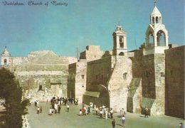 BETHEEM - L'EGLISE DE LA NATIVITE.  (scan Verso - Palestine