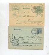 Deutsches Reich / 4 Postkarten O (01851-20) - Allemagne