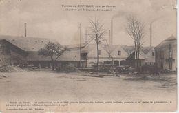 CPA Brévilly - Forges De Brévilly, Sur La Chiers - Entrée Des Forges - France