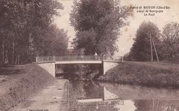 BUFFON 21 CANAL DE BOURGOGNE LE PONT BELLE CARTE RARE !!! - Other Municipalities