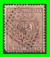 ESPAÑA SELLO ESCUDO DE ESPAÑA AÑO 1874  1º Republica - 1873-74 Regencia