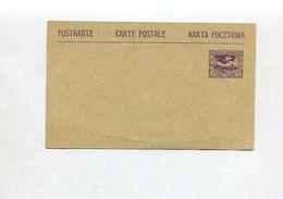 D.Abst.-Geb. - Oberschlesien / 1920 / Postkarte Mi. P 4 ** (01862) - Abstimmungsgebiete